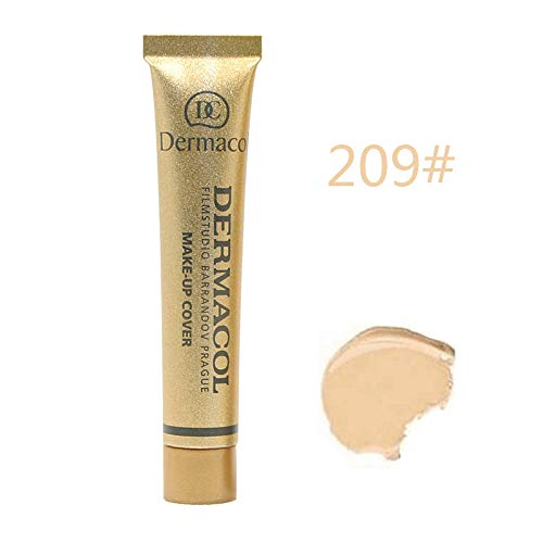 Dermacol Make-up Cover – stark deckende, wasserfeste Foundation mit LSF 30