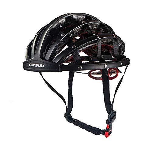 Heemtle Casco de Ciclismo Plegable Cascos de Bicicleta de Seguridad portátiles Ajustables...