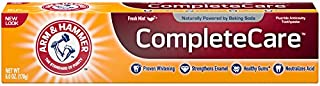 Arm & Hammer Complete Care Toothpaste, 6 oz (Pack of 12) (Packaging May Vary)