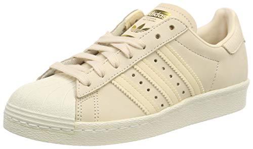 adidas Damen Superstar 80s Gymnastikschuhe, Pink (Linen/Linen/Off White), 40 EU