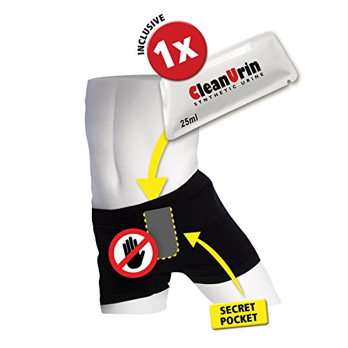 AntiParanoiaPack (inkl. 25ml CleanUrin) - Clean Urin (M, Unterhose)