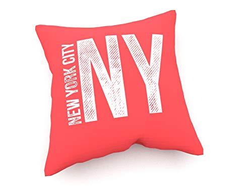 weewado Lukas Flekal - NY - New York City - 30x30 cm - Canapé Coussins - Art, Image, Peinture, Photo - Déclarations