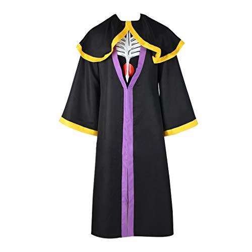 CosplayDiy Men's Suit for Overlord Momonga Cosplay Costume Outfits XXXL Black