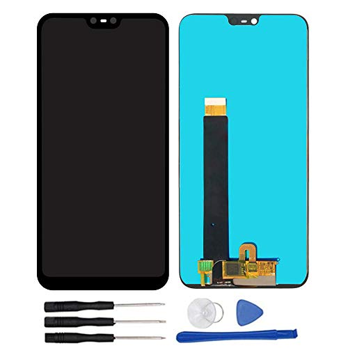 "Sostituzione Assemblea Schermo LCD Display Digitizer Touch Screen Vetro per Nokia 6.1 Plus TA-1099 (X6 2018) 5.8"" Nero"