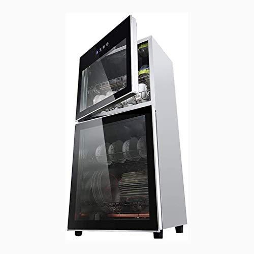 YangJ Mini Desinfektionsschrank Haushalt Vertikaler Desktop Gewerbliches Küchengeschirr Desinfektionsschrank Klein, Spannung: 220V / Leistung: 700W