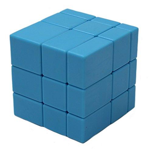 MEISHINE Azul Mirror Cube Cubo Mágico Inteligencia Mágico Cubo de la Velocidad Juego de Puzzle Cube Speed Magic Cube Stickerless