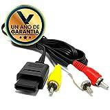 Cable de Video RCA – Genérico Compatible - Nintendo SNES / 64 / GameCube