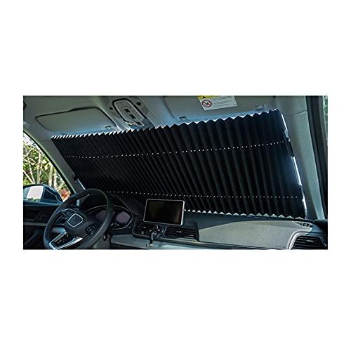 YDZS Parasol para Parabrisas Retráctil para Coche con Ventosas, Protección Solar para Bloqueo Automático De Rayos UV, Parasol Plegable para Coche, Ventana, Bloque Solar (Color : 2sets 70cm)