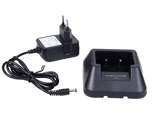 Mengshen Baofeng Caricabatteria Desktop Charger Li-Ion Charging for UV-5R 5RA 5RB 5RC 5RD 5RE 5REPLUS UV-6R BF-F8 Radios (BL-5 And BL-5L) UV-5R_C5