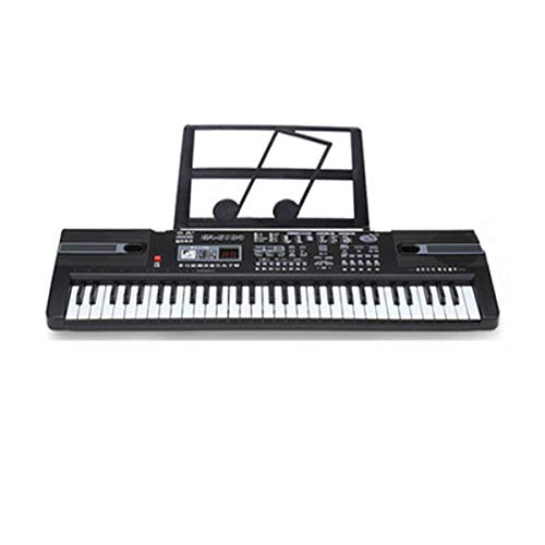 For Sale! YIXINGSHANGMAO Electronic Keyboard, Children's Keyboard, Suitable For Children Aged 3-12, 65195cm, Black, (send A Gift Package) Digital piano, musical instrument (Color : Black-65195cm)