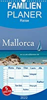 Mallorca wo es am schoensten ist - Familienplaner hoch (Wandkalender 2022 , 21 cm x 45 cm, hoch): Ein kleiner Auszug der schoensten Plaetze Mallorcas (Monatskalender, 14 Seiten )