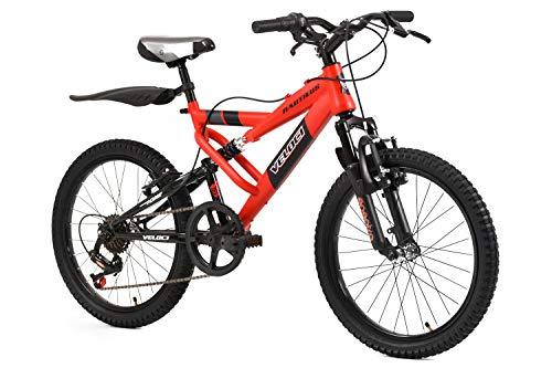 Veloci Bicicletas, Modelo Nautilus D/Susp Rojo Brillante, Rodado 20