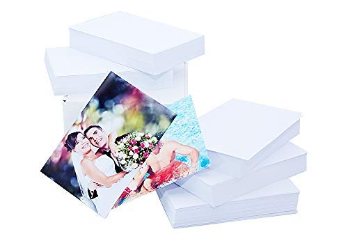 Glossy Photo Paper 4 x 6 Inches (500 Sheets) 60lbs/230gsm