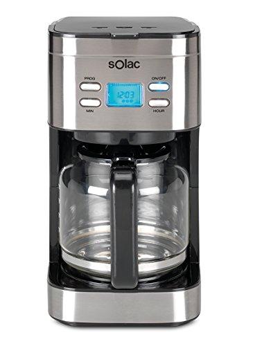 Solac Stillo CF4028: Cafetera de goteo programable