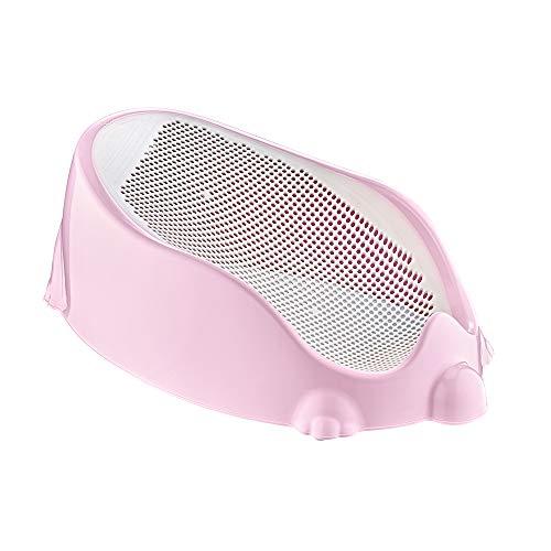 Multifunktionaler Schalensitz für die Wanne Babysitz für Babys (Pink)