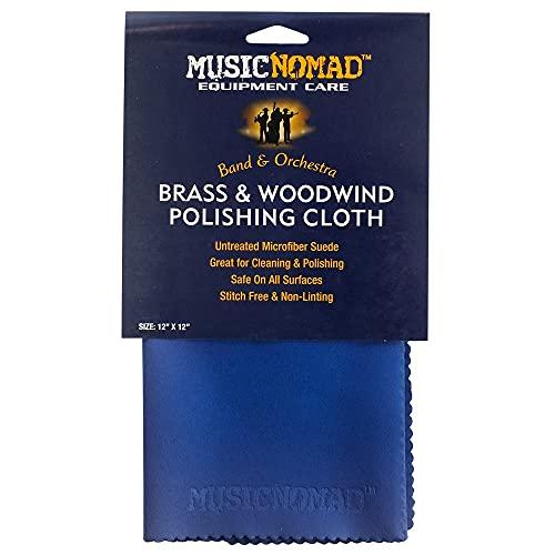 MusicNomad Brass & Woodwind Premium Microfiber Polishing Cloth (MN730)