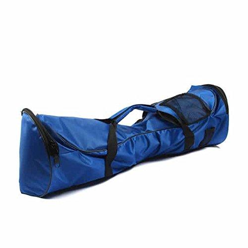 oO Bolsa Transporte para Hoverboard 6,5 pulgadas. Cierre con cremallera, funda de mano e impermeable – 1 bolsillo en Funda para patín eléctrico scooter de 2 ruedas 6.5 ' (Azul)