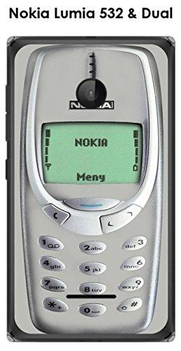 Onozo Cover Nokia Lumia 532& Dual Nokia 3310Glacier Gray