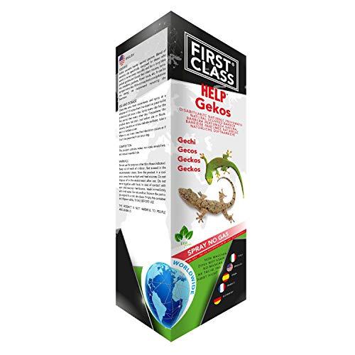Firstclass Repellente SPECIFICO GECHI DISABITUANTE Naturale Spray da 1 LITRO