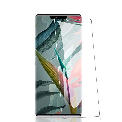 RIIMUHIR 3 Pezzi Vetro temperato per Huawei Mate 30, durezza 9H, Senza Bolle, Anti-Impronta Digitale, Anti-Olio, Ultra-chiarezza, Trasparente