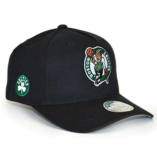 Mitchell & Ness Herren Snapback Cap NBA Eazy 110 Curved Boston Celtics schwarz Verstellbar