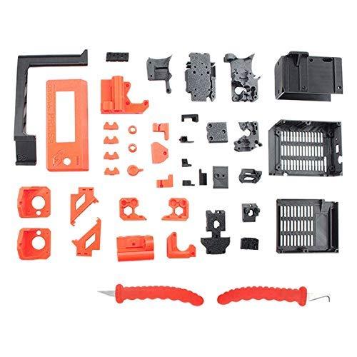 KTZAJO PETG Material Printed Parts for Prusa I3 MK3S 3D Printer Kit 3D Printer Accessories