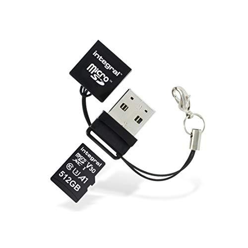 Integral microSD / microSDHC USB Kartenlesegerät/INCRMSDMINIUSB