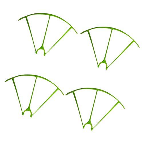 IPOTCH Set Paracolpi Protettivi in plastica per Elica di Sostegno per Quadricottero Drone SYMA X5HW X5HC - Verde