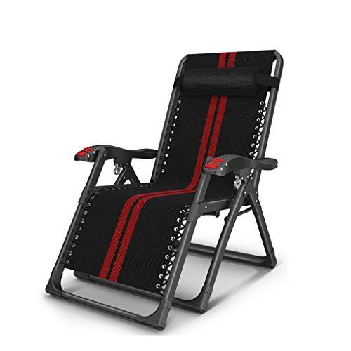 DHR Chaises Longues Accoudoirs De Massage Chaise Longue Pliante Inclinable D'extérieur Patio De Jardin Teslin avec Appui-tête Chaises Longues Réglables (Color : Chair 1, Taille : 2x2)