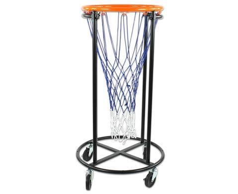 Unbekannt Fahrbarer Basketballkorb – Mobiler Basketballständer für Kinder und Anfänger, höhenverstellbar