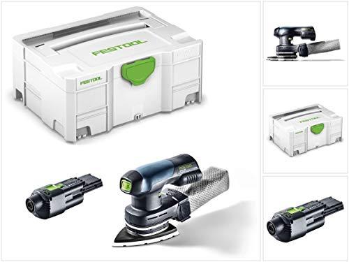 Festool DTSC 400 Akku Deltaschleifer 18V bürstenlos + ACA 220-240/18V Ergo Netzadapter + Systainer