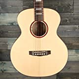 Guild Guitars Jumbo Jr Mahogany Acoustic Guitar, Natural, Archback Solid Top, Westerly Collection