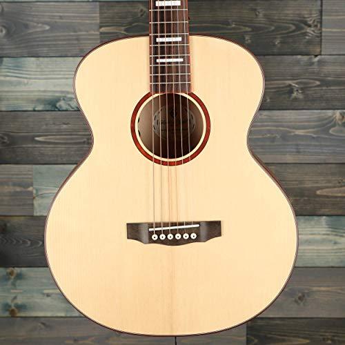Guild Guitars Jumbo Jr guitarra acústica de caoba, natural, arco de tapa sólida, colección Westerly