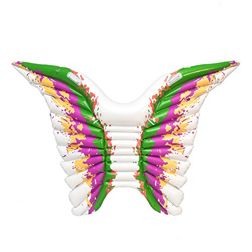 Inflatable Angel Wings Pool Float Butterfly Swimming Party Summer Fun for Kids and Adults