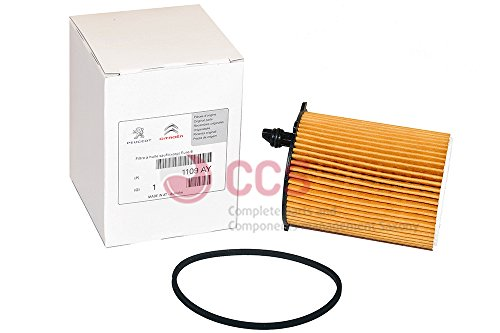 Originele oliefilter filter Citroen Peugeot oliefilter 1.4 + 1.6HDI 1109AY