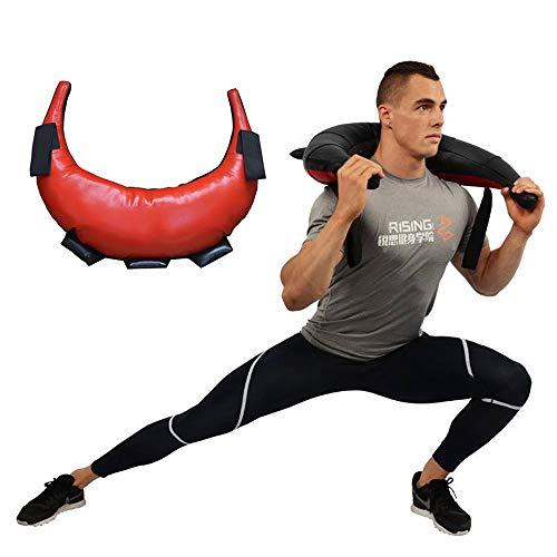 LCAZR Power Bag 5-20kg Bulgaria Bag Peso Bag Core Bag, Senza Sabbia Fitness Bag Sandbag per Allenamento Funzionale, Fitness, Forza, Allenamento di Resistenza / 10kg