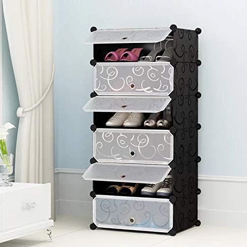Hhor étagère à Chaussures, Porte-Chaussures en Plastique pour Chaussures, Bottes, Pantoufles, pour Salon, Entrée, Couloir et Vestiaire (Taille   Type2)