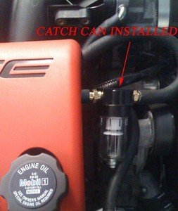 C5 C6 Corvette PCV Oil Catch Can