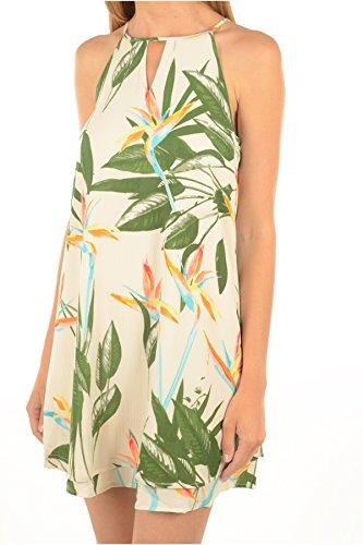 ONLY Damen Kleid Onlglam Halterneck Short Dress Aop Wvn, Mehrfarbig (Pink Tint Aop:Bird of Paradise Comb 1), 36