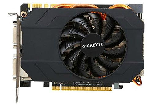 Gigabyte GeForce GTX 970 Mini ITX Overclocked 4GB GDDR5 PCiE Video Card GV-N970IXOC-4GD