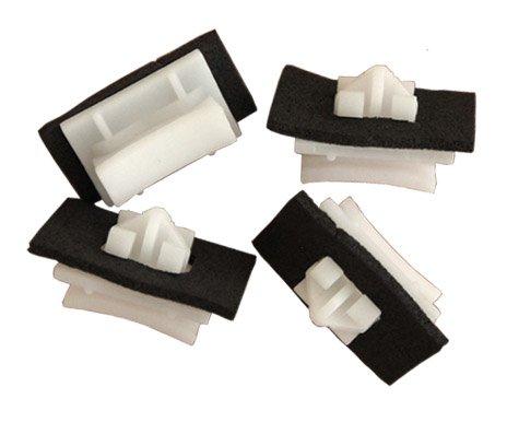 myshopx C56 Befestigung Clips Türverkleidung Klammern Stoßstangen Befestigung Clips Stoßfänger Zierleiste Radlauf Plastik Nieten Schlagniete Druckniete