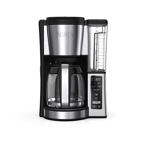 Ninja CE251 Programmable Brewer, with 12-cup Glass Carafe, Black and Stainless Steel Finish 1 Classic or Rich, each brew is flavorful and never bitter with custom brew strengths Hotter brewing technology: Advanced boiler for a perfectly hot cup of coffee Wake upto hot coffee 24-hour programmable delay brew allows you to prepare your brew upto a day in advance