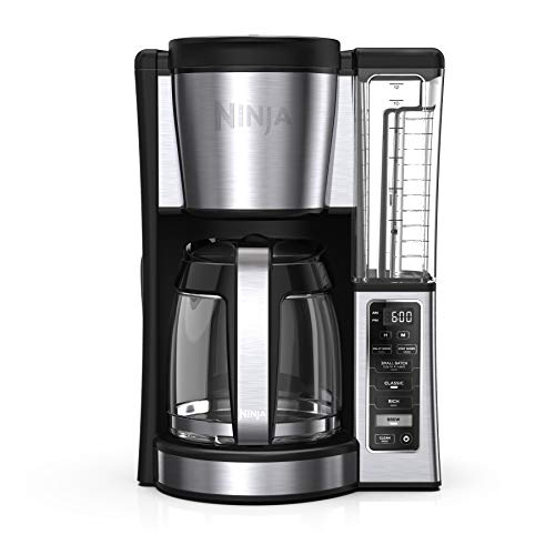 New Ninja 12-Cup Programmable Brewer CE251 Coffee Maker, 60 oz, Black/Stainless Steel