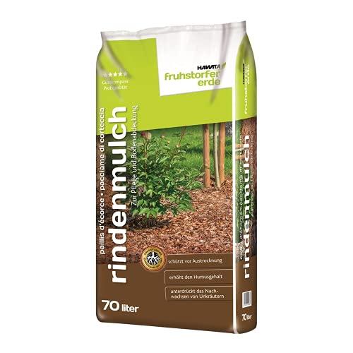 Hawita Fruhstorfer Rindenmulch 36x70l, nachhaltige Pflege + Bodenabdeckung, Baumrinde, Gartengestaltung