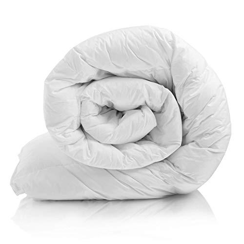 Melunda Bettdecke 200x200 cm, Steppbettdecke antiallergisch für Allergiker, Weiche & Warme Ganzjahresdecke, Steppdecke atmungsaktiv