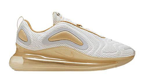 Nike Air MAX 720, Zapatillas de Atletismo para Hombre, Multicolor (White/Anthracite/Pale Vanilla 000), 42.5 EU