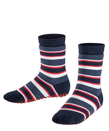 FALKE Unisex Kinder Mixedstripe Cp Socken Stoppersocken, Blau (Marine 6120), 35-38