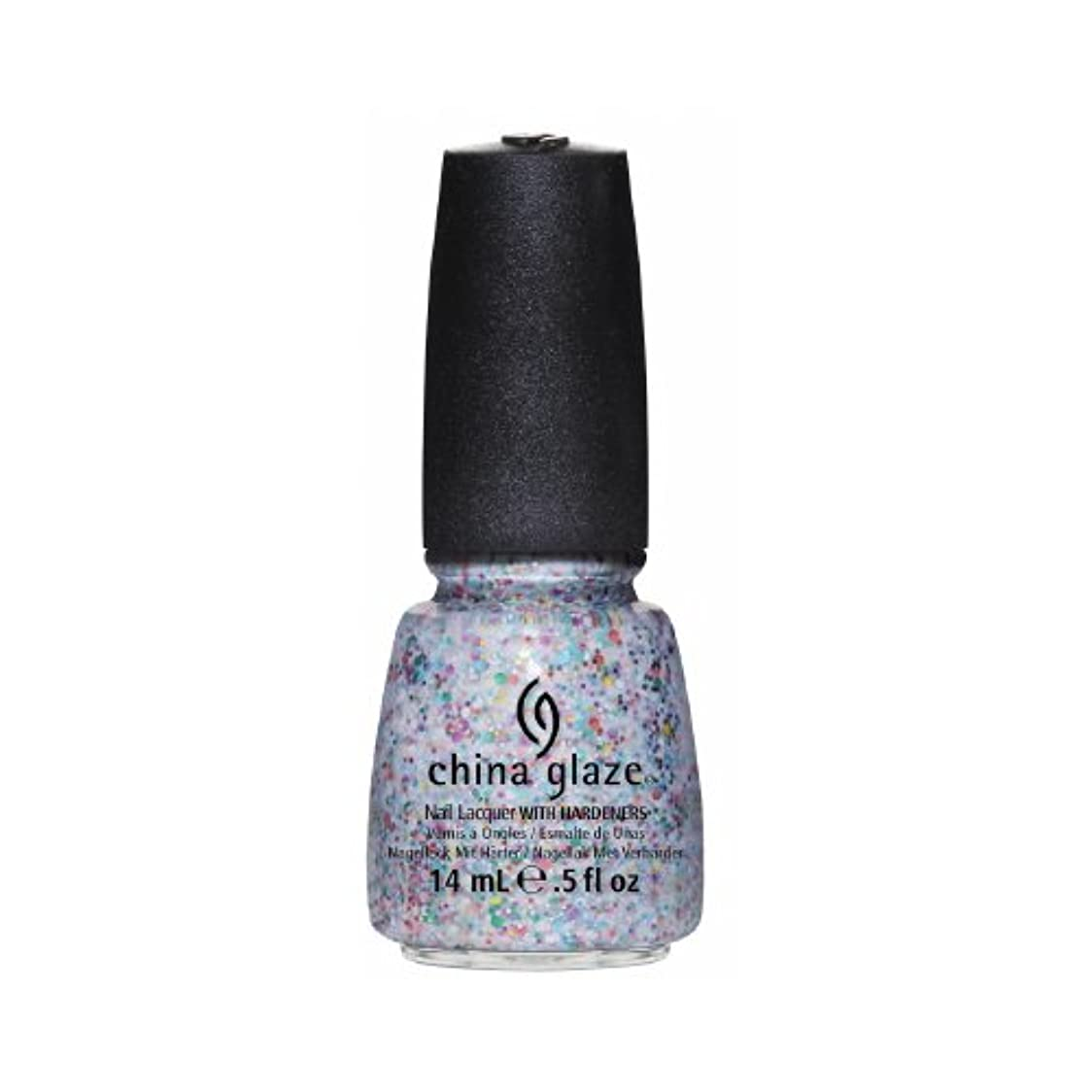 懲らしめねじれゲージCHINA GLAZE Nail Lacquer - Cirque Du Soleil Worlds Away 3D - It's a Trap-eze (並行輸入品)