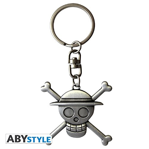 ABYstyle - ONE PIECE - Llavero 3D - Skull Luffy