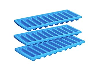 Prepworks by Progressive Icy Bottle Stick Trays - Set of 3 Ice Cube Tray Cylinder Ice Cubes